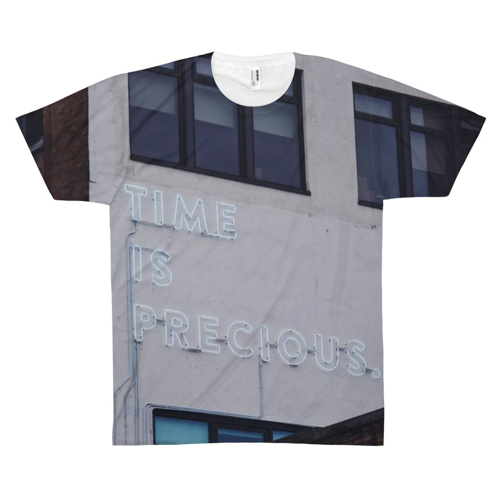 Time Is Precious Highquality Tee