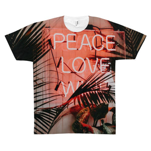 Peace Love Wine Quality Tee