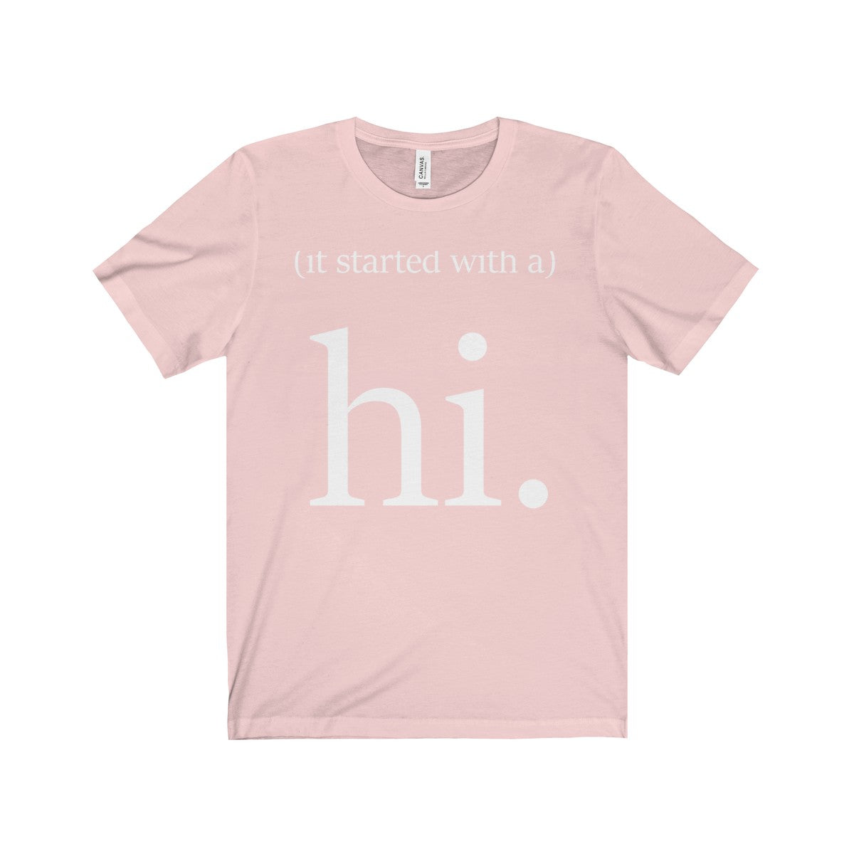 It Starts With A Hi Tee
