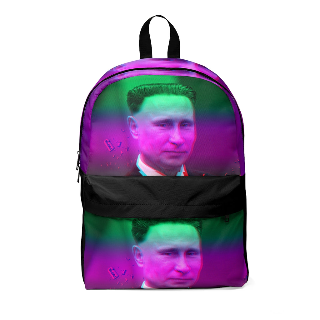 Putin Kim Jong Un Aesthetic Pink And Green Classic Backpack