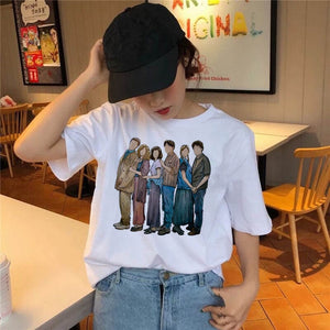 Friends 90's tv show fandom artwork shirt