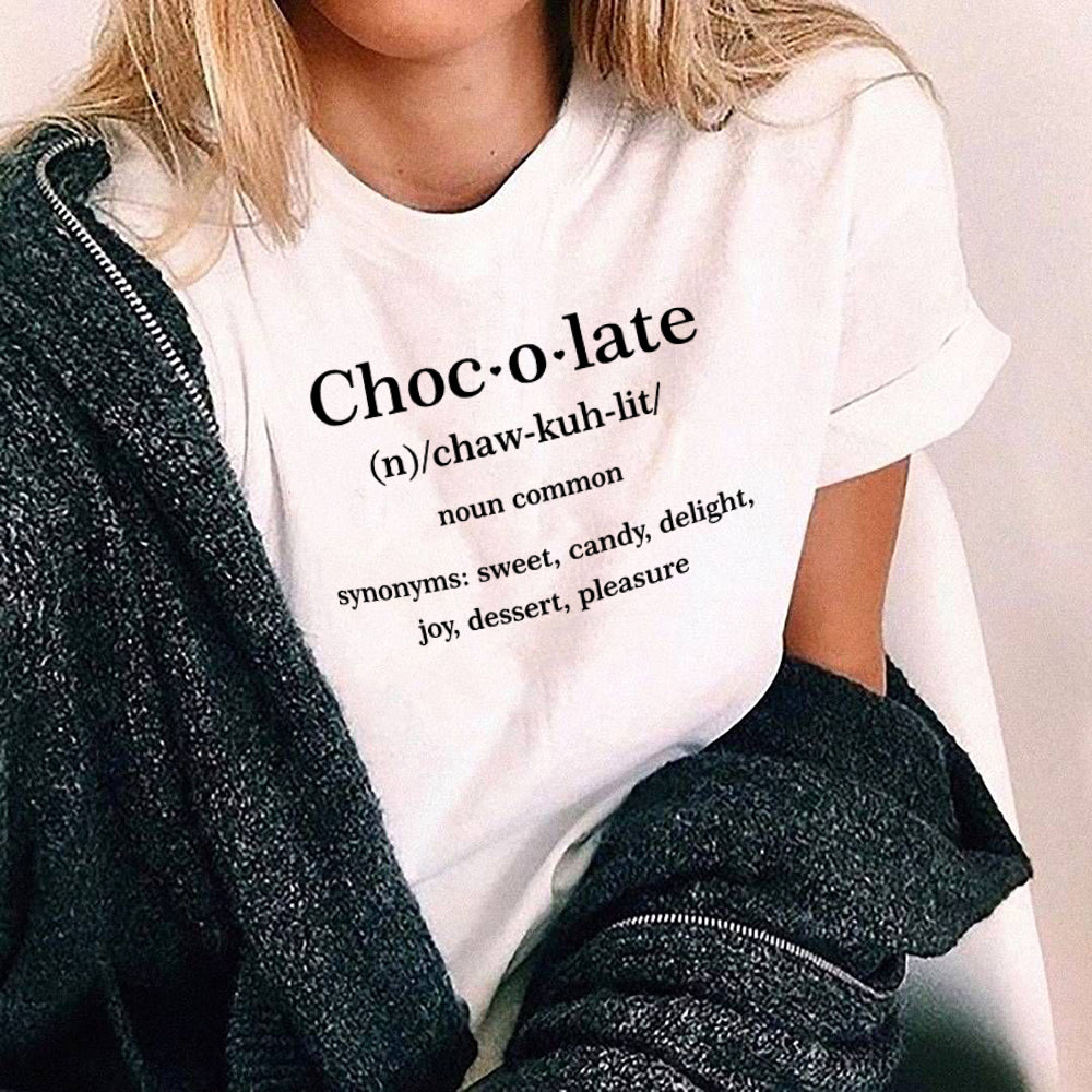 Chocolate Definition Aesthetics Tee Shirt