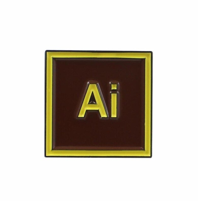 Au Ai En Ps Br Design Software Enamel Pins Photoshop Premiere Designer Enamel Pins