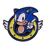 Sonic The Hedgehog Brooch and Enamel Pin Fan Collection Gift