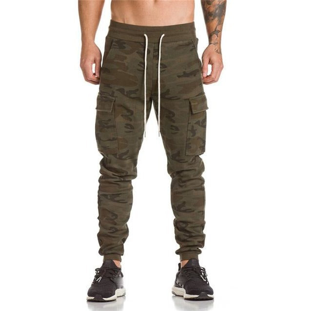 Men Trousers Sweatpants Slacks Casual Dance Sportwear long trousers high-quality pants - BernardoModa