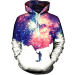 Universe Smoke Cloud Sweatshirt Streetwear Hoodie Allover Print