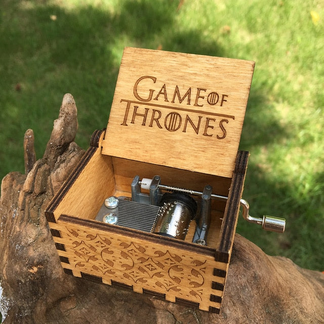 Multi Color Multi Style Wooden Music Box Game of Thrones - BernardoModa