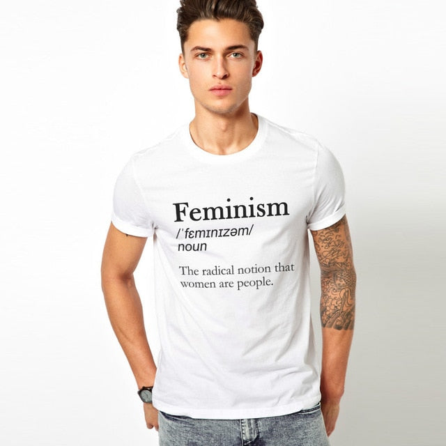 Feminism Definition T-Shirt Womens Rights Fashion Unisex Tee t shirt - BernardoModa