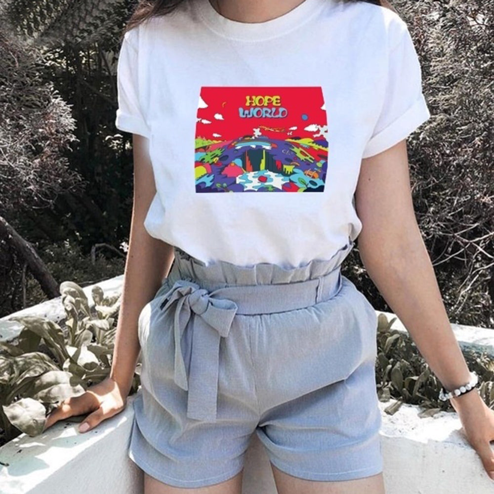 Hope World Hipster Shirt - BernardoModa