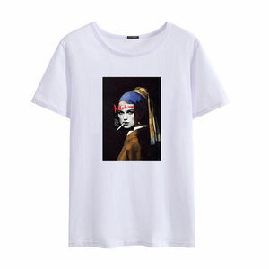 Mona Lisa  Lollipop Casual Tee - BernardoModa