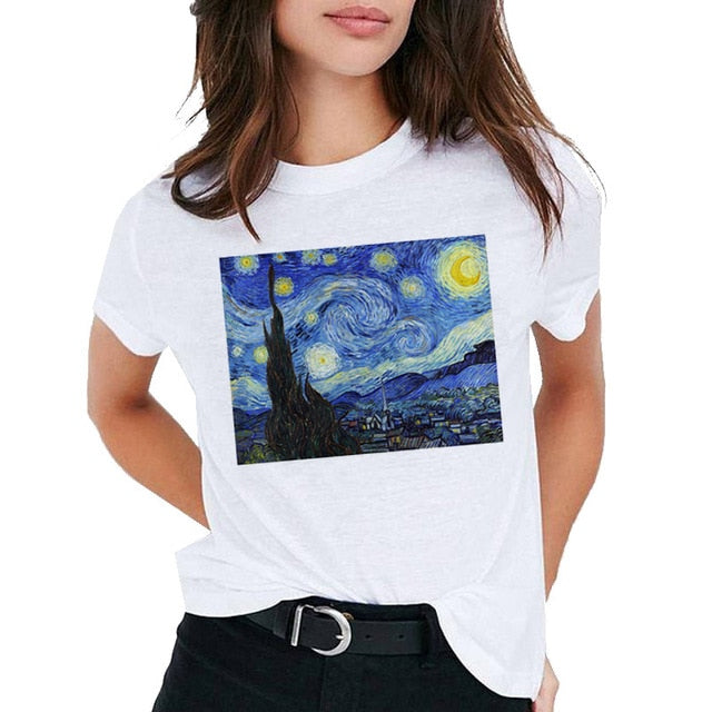 Van Gogh Oil Art Van Gone Meme Shirt - BernardoModa