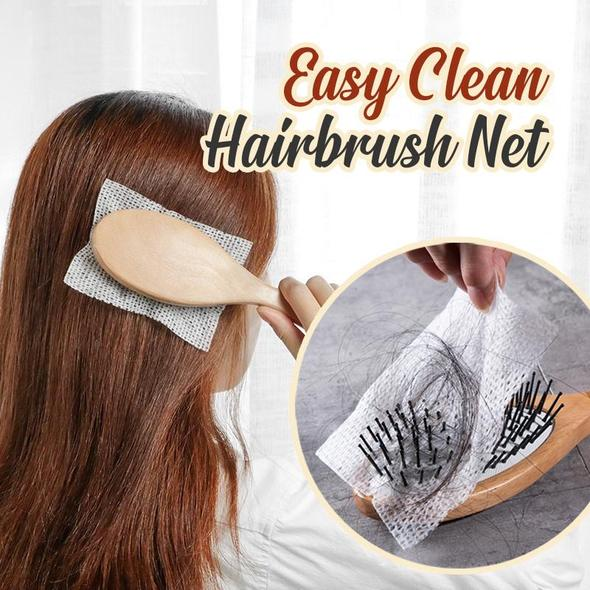 Easy Clean Hairbrush Net (50SHEETS)