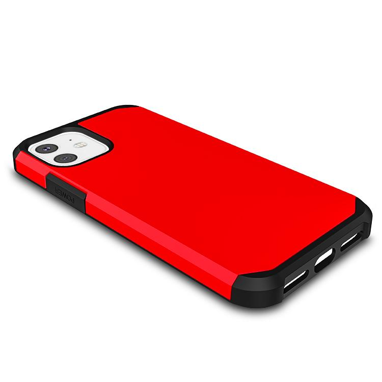 Bright Red Slim Armor Combo Case