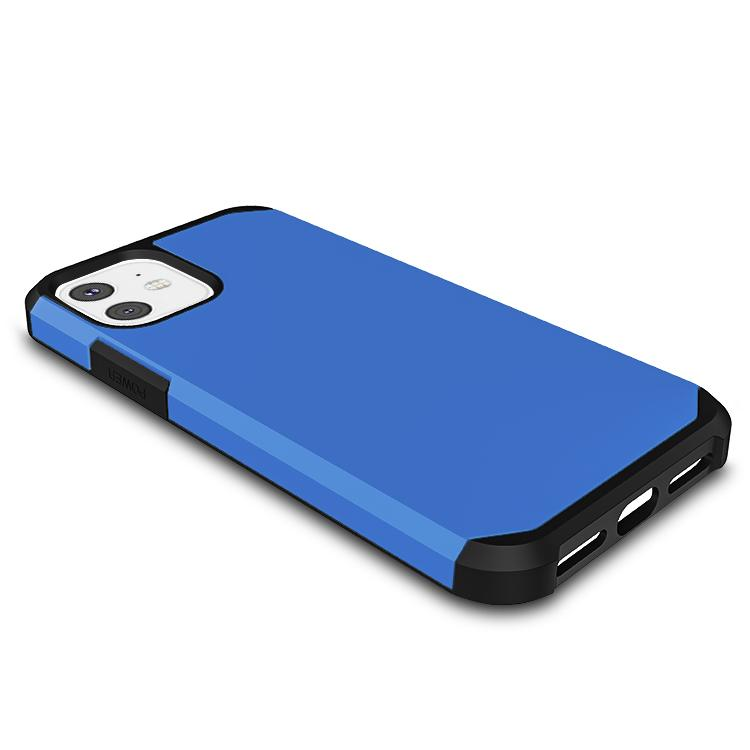 Casenne iPhone Case Sea Blue Slim Armor Combo Case