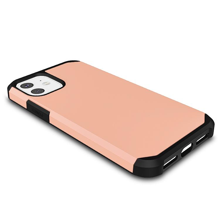 Casenne iPhone Case Rose gold Slim Armor Combo Case