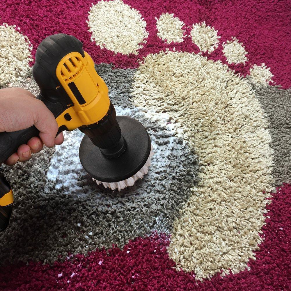 Power Scrubber Drill Brush Kit (Drill Not Included)