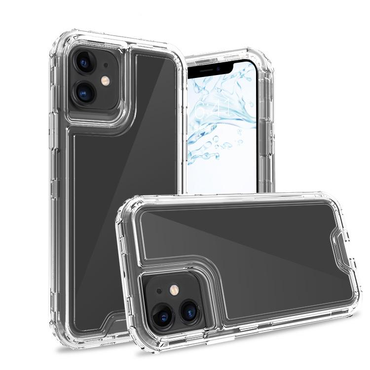 Clear iPhone 11 Colorful Combo Clear Case