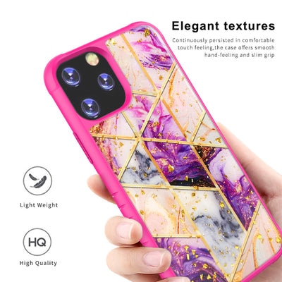 Ultra Thin Goldleaf Crystal Clear Transparent Gel TPU Cases For iPhone 11 Pro Max King Kong 4