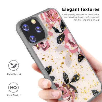 Ultra Thin Goldleaf Crystal Clear Transparent Gel TPU Cases For iPhone 11 Pro Max King Kong 2