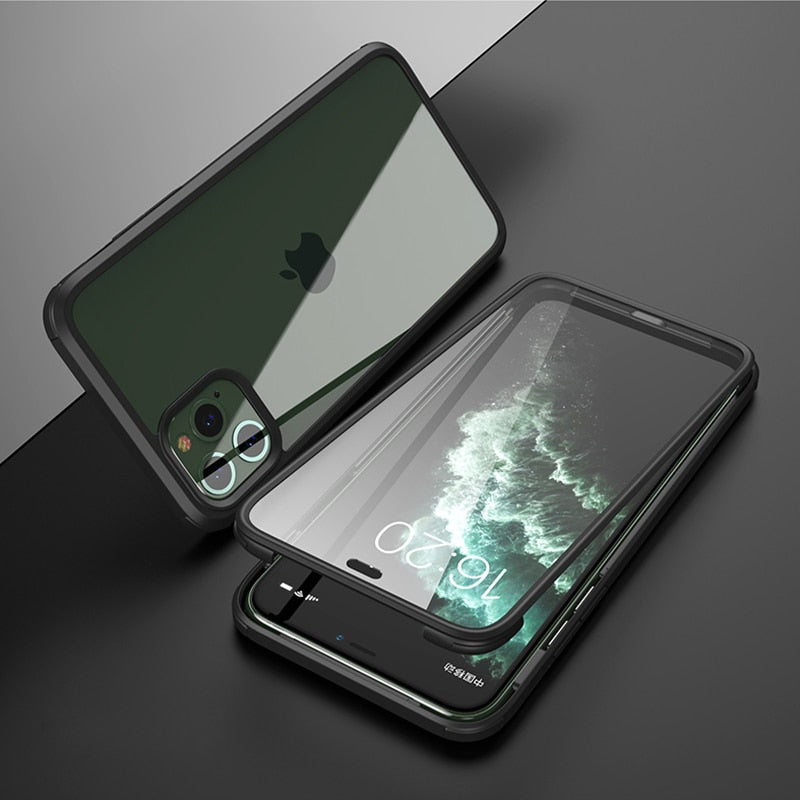 For iPhone 11 Pro Max Case 360 Degrees Ful Protective Shockproof Cover For iPhone 7 8 Plus XR XS MAX Four Corner Protection Case