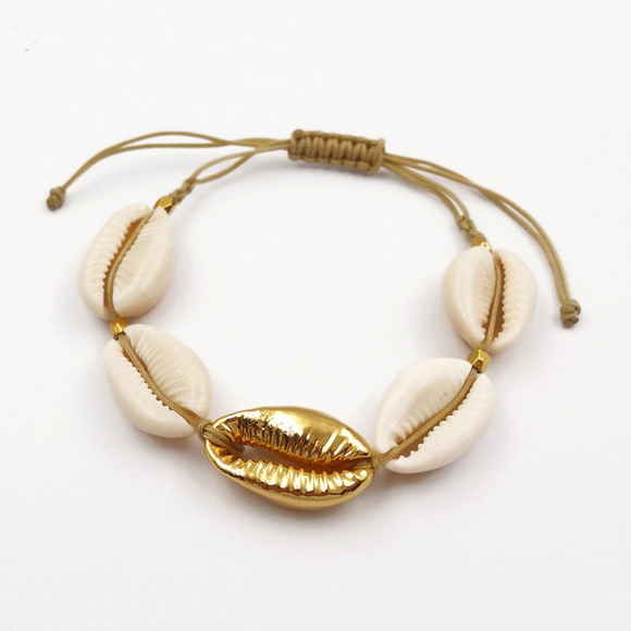 Cowrie Muslinge Armbånd Whitehaven