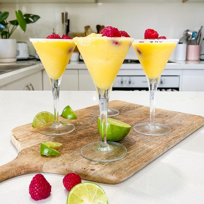 Banana Sorbet Mocktail