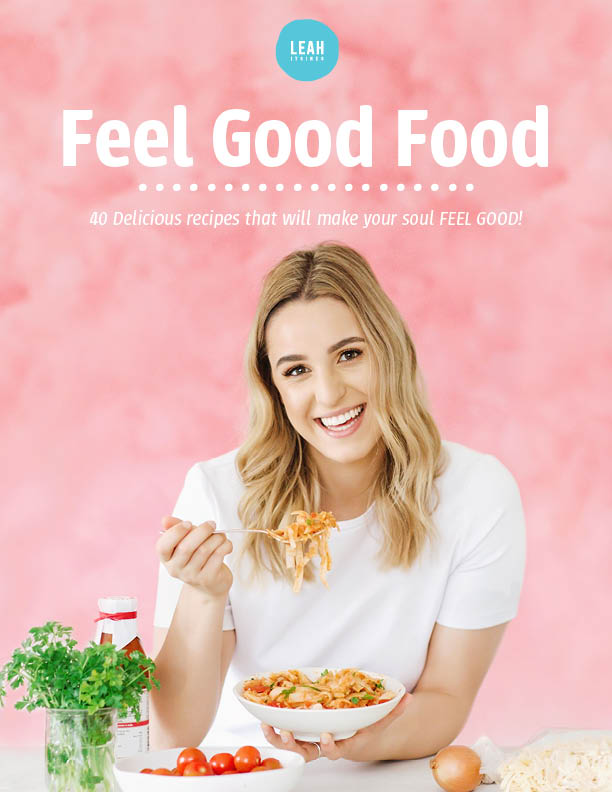 My New eBook Feel Good Food is Here!