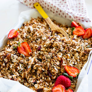 Granola with Date Syrup
