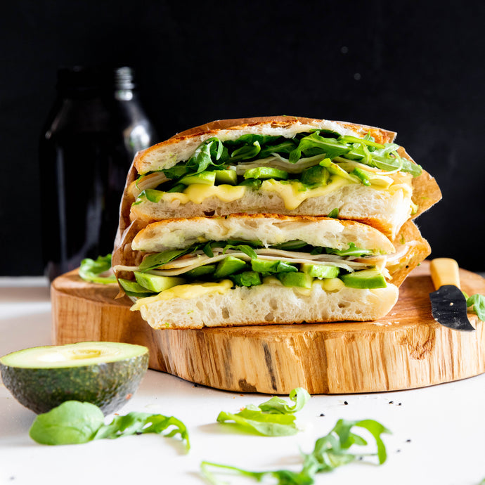 Turkey and Avocado Grilled Cheese Sandwich