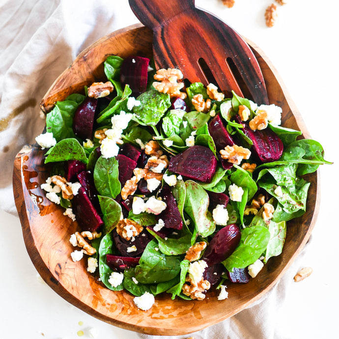 Roasted Beetroot and Walnut Salad