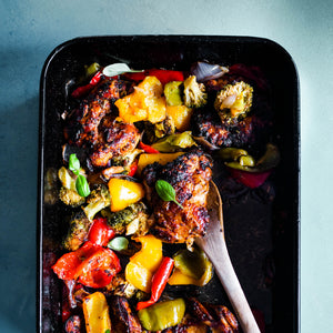 Spicy Chicken Tray-bake