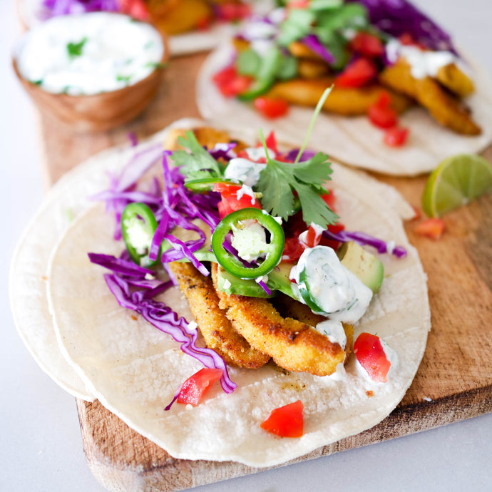 Fish Tacos with Corn Tortillas