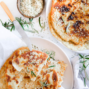3 Ingredient Flat Breads