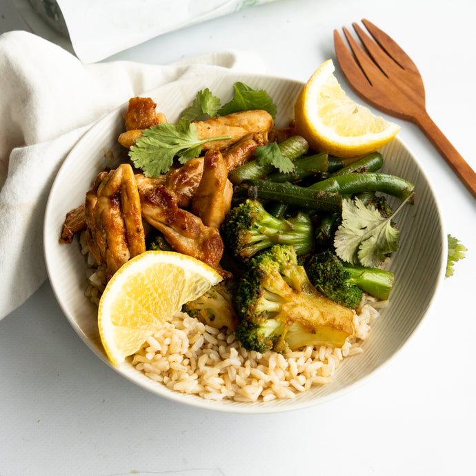Honey Chicken and Broccoli Stir fry