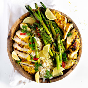 Chicken with Lemon & Herb Butter