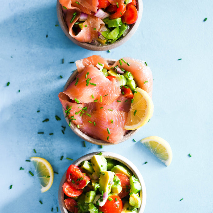 Salmon Salsa Pockets