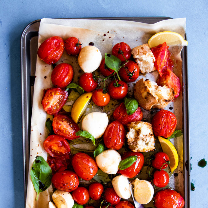 Roasted Tomato & Bocconcini Salad