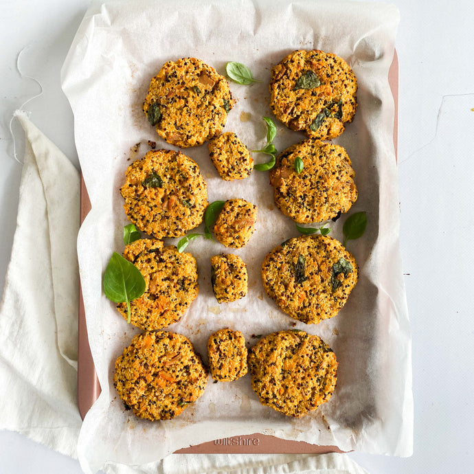 Kids Tuna, Sweet Potato and Quinoa Patties