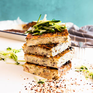 Zucchini and Quinoa Slice