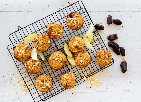 Top 15 BARE Lean Meals to Freeze - Apple and Almond Muffins