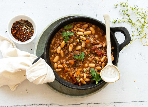 Top 15 BARE Lean Meals to Freeze – Barley Bean Stew