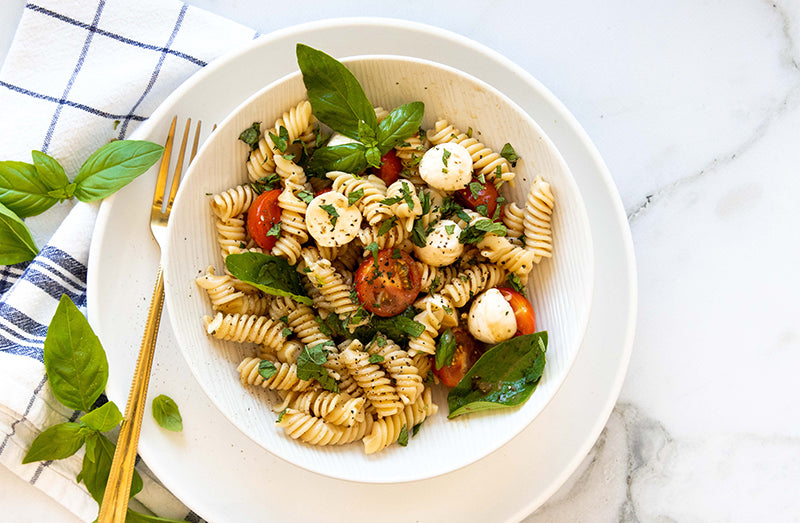 Caprese Pasta Salad from BARE Lean