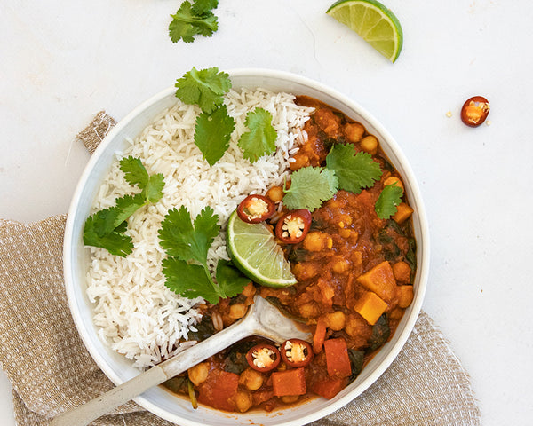 Chickpea Curry - BARE Lean Vegetarian