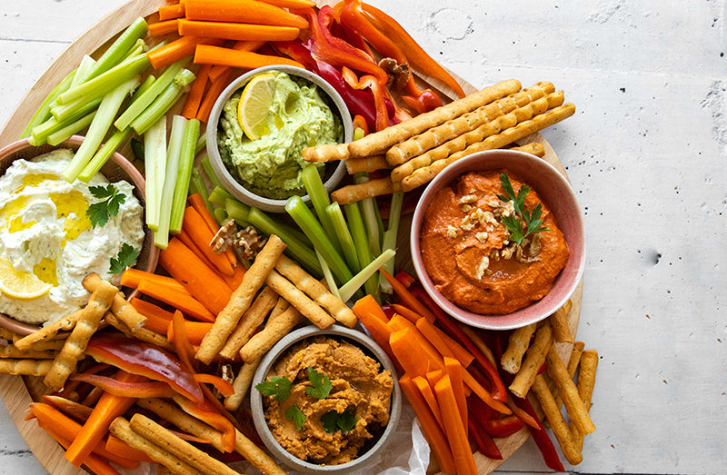 Dip & Veggies from BARE Lean