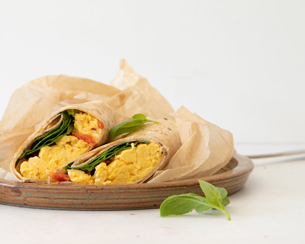 Egg and Chili Wrap - BARE Lean Vegetarian
