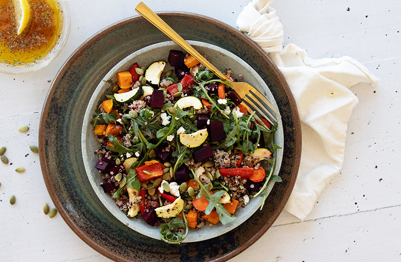 Roast Vegetable Grain Salad from BARE Lean
