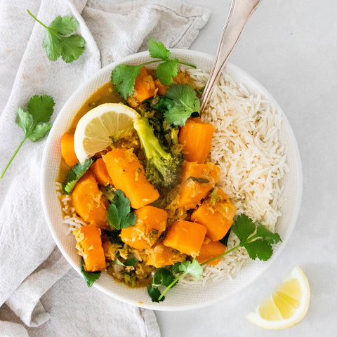 Easy Vegan Sweet Potato Curry Recipe