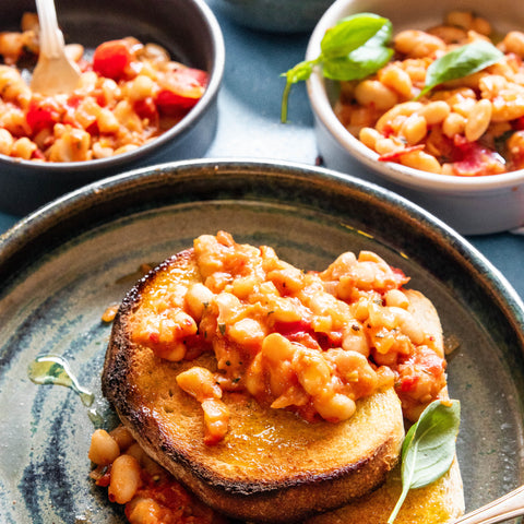 Easy Vegan Homemade Baked Beans