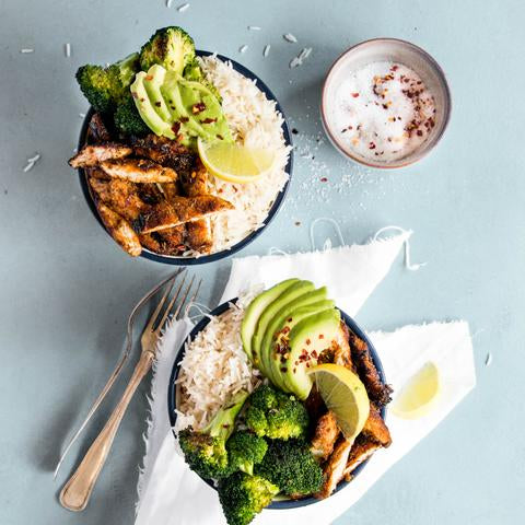BBG Honey Chicken Bowls
