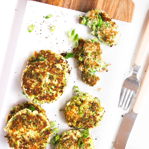 Broccoli & Feta Fritters